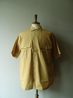 【SALE】A VONTADE(アボンタージ) CAMP SHIRTS S/S
