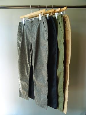 ■セール対象外商品   FOB FACTORY(エフオービーファクトリー) EASY PANTS