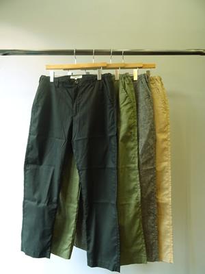 【SALE】FOB FACTORY(エフオービーファクトリー) EASY PANTS