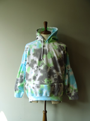 NICHE(ニッチ) TIEDYE PICK HOODED SWEAT