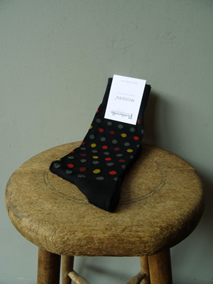 PANTHERELLA(パンセレラ)MULTI DOT WOOL SOX