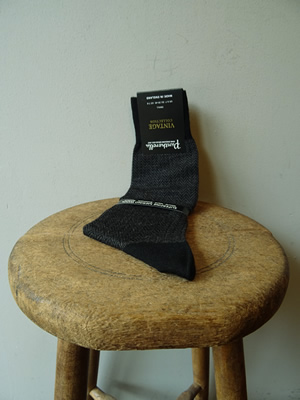 PANTHERELLA(パンセレラ)HERRINGBONE WOOL SOX