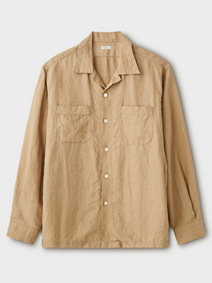 PHIGVEL(フィグベル) LINEN SAFARI SHIRT