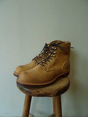 RED WING(レッドウィング) IRON RANGE-SUEDE-