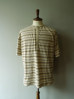 【SALE】TOWN CRAFT(タウンクラフト) CLASSIC BORDER HENLEY